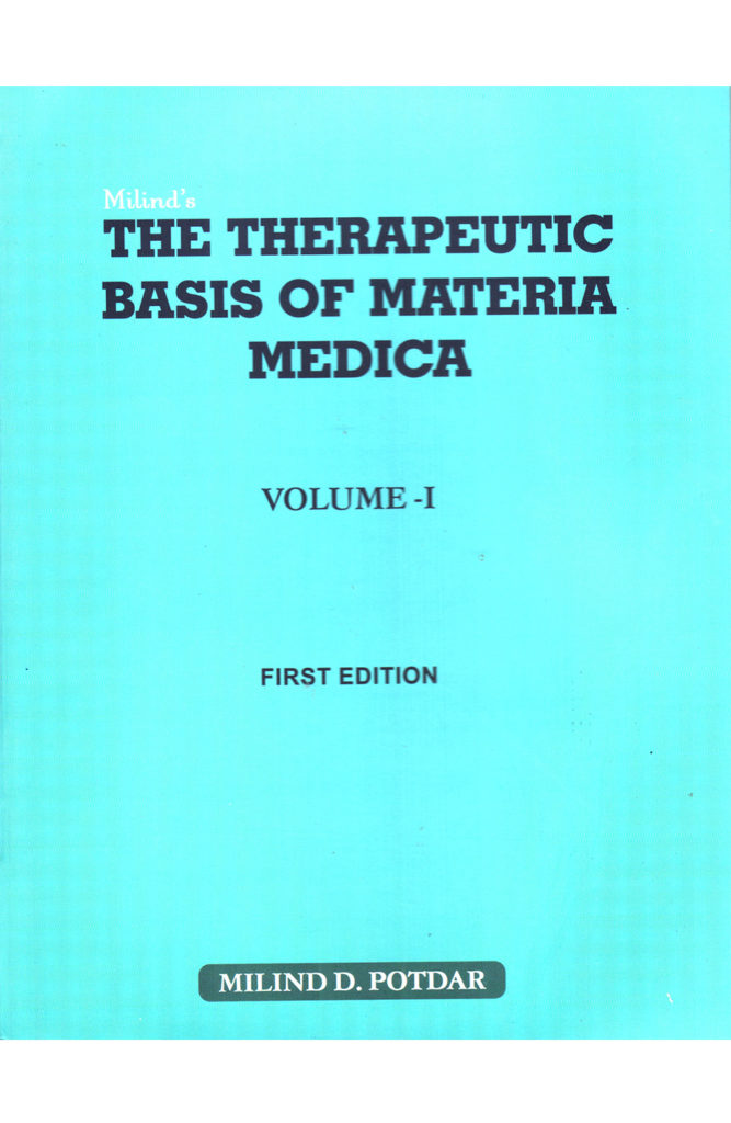 The Therapeutic Basic of Materia Medica
