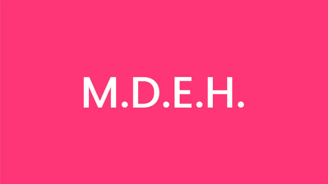 M.D.E.H. <span>(Doctor of Medicine Electrohomeopathy)</span>