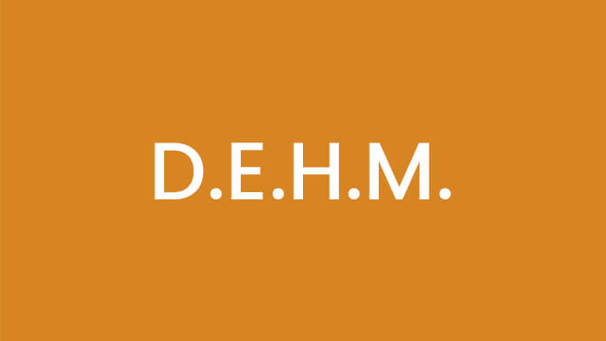 D.E.H.M. <span>(Diploma in Electropathy Medicine)</span>